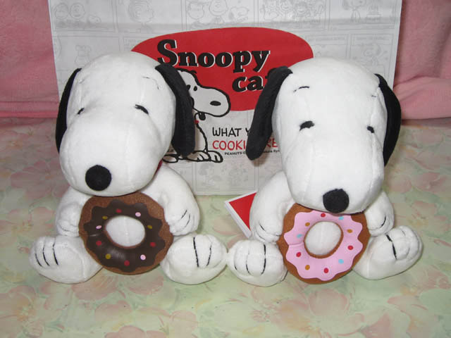 Snoopy Cafe ぬいぐるみ