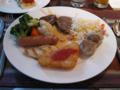 九龍酒店のビュッフェ朝食(2009/01/10), #1