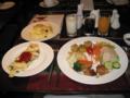 九龍酒店のビュッフェ朝食(2009/01/13)