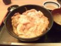 四谷 軍鶏一 シャモ親子丼