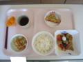 2010.12.20 昼食