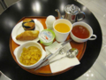 九龍酒店の朝食セット(2011/07/16)