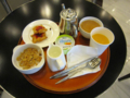 九龍酒店の朝食セット(2011/07/17)