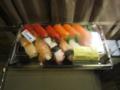 中島水産@香港 さかなやの鮨, #1
