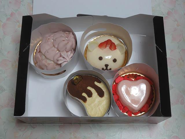 Q-pot CAFE. Special Cake Box - ALL