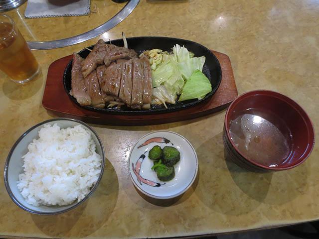 ぱっぷHOUSEのWステーキ・ランチ, #1
