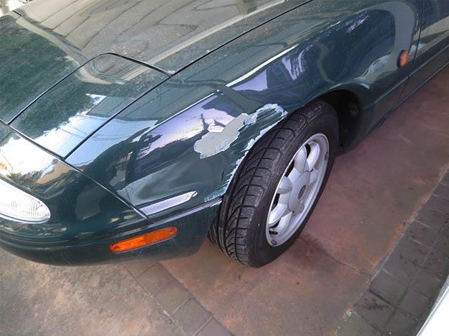 Crashed Car, #1