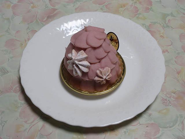 Q-pot CAFE. SAKU SAKU SAKURA Cake, #1
