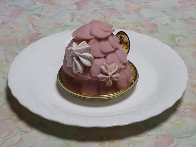 Q-pot CAFE. SAKU SAKU SAKURA Cake, #2