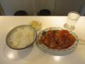 生駒軒の酢豚定食