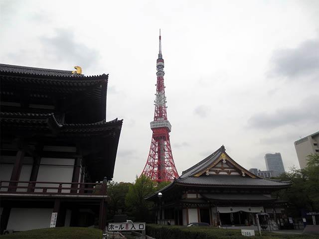 東京タワー from 増上寺, #1