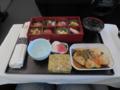 JAL097便(ビジネスクラス)機内食, #1