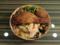 臺北鐵路餐廳(台北駅の駅弁) 臺鐵雞腿圓木片盒便當
