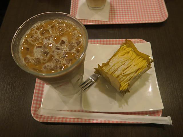 小さな喫茶店のモンブラン, #1