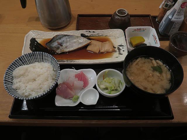 さわらの煮付け定食・刺身付, #1