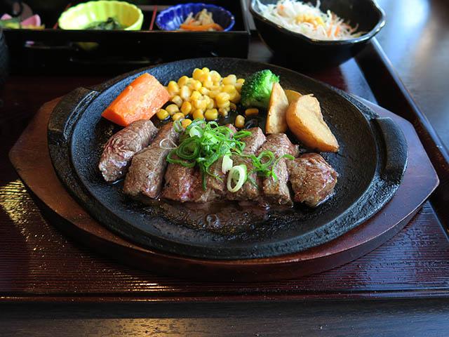 鉄板ろく丘ステーキ御膳, #2