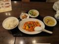 大連餃子基地DALIAN 海老と卵のチリソース定食, #1