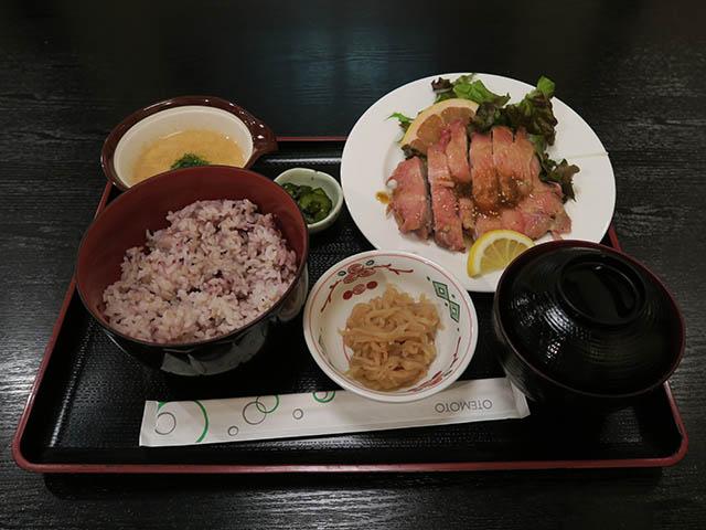鶏柚子胡椒焼き定食, #1
