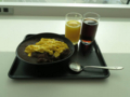 JALラウンジ朝食(オムカレー風)