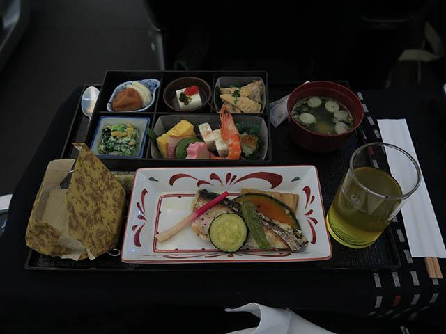 JL097便(ビジネスクラス) 機内食, #2