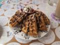 217Cafe, チョコレート&クリームワッフル