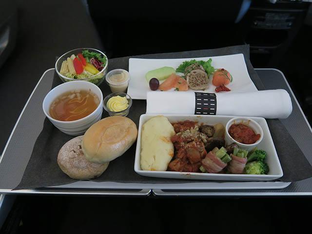 JL098便(ビジネスクラス) 機内食, #2
