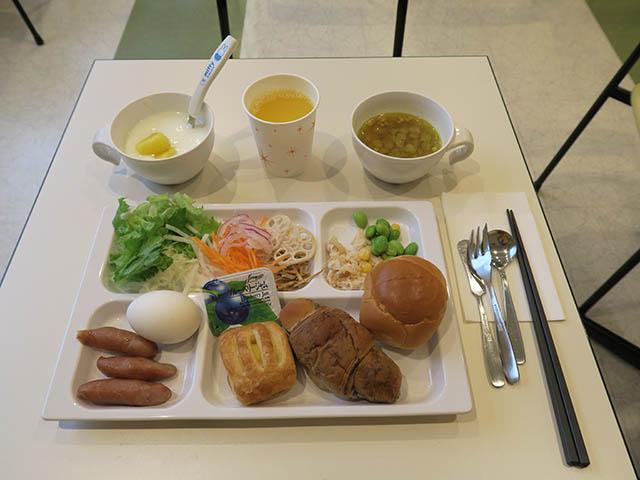 コンフォートホテル大阪心斎橋 ビュッフェ朝食(2018/07/05)