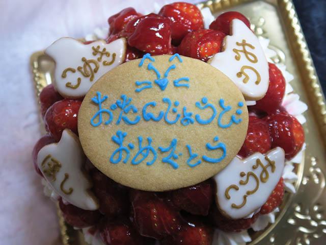 2019 Birthday Cake of Umi, Koyuki, Koumi & Hoshi, #04