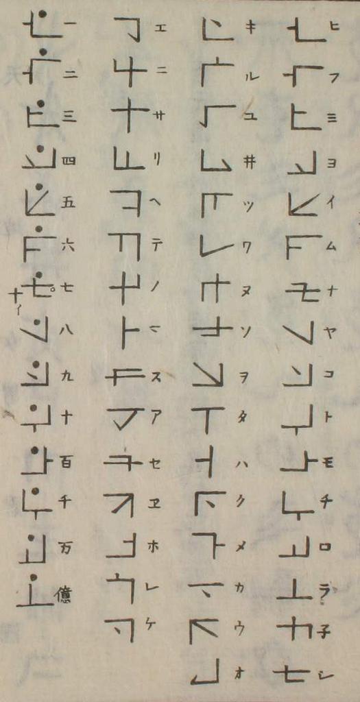 日本語の起元:古代の文字とカタカムナ文字 , LuckyOceanのブログ