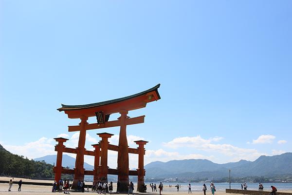 厳島神社 鳥居 宮島
