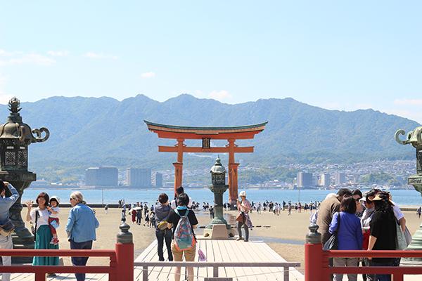 厳島神社 高舞台