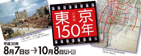 江戸東京博物館 東京150年 展覧会