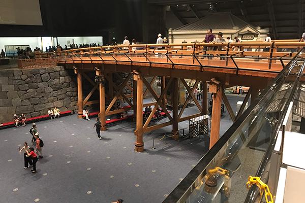 江戸東京博物館 展示室 江戸時代 日本橋 復元