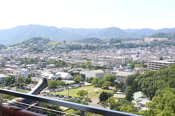 福山城 天守 景観