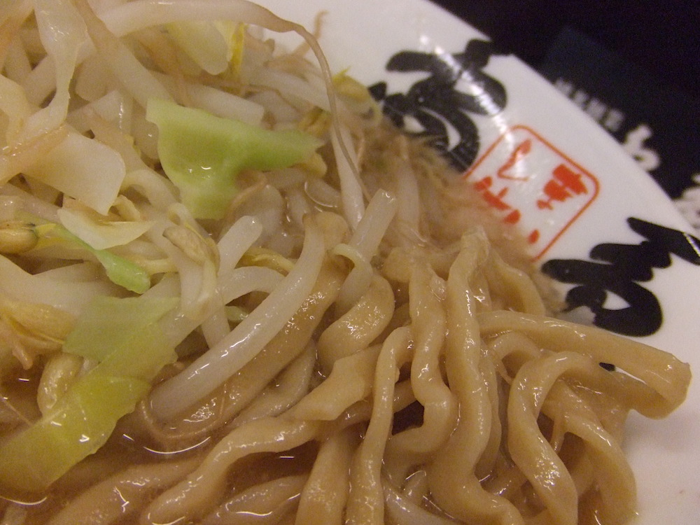 島系本店 極太麺