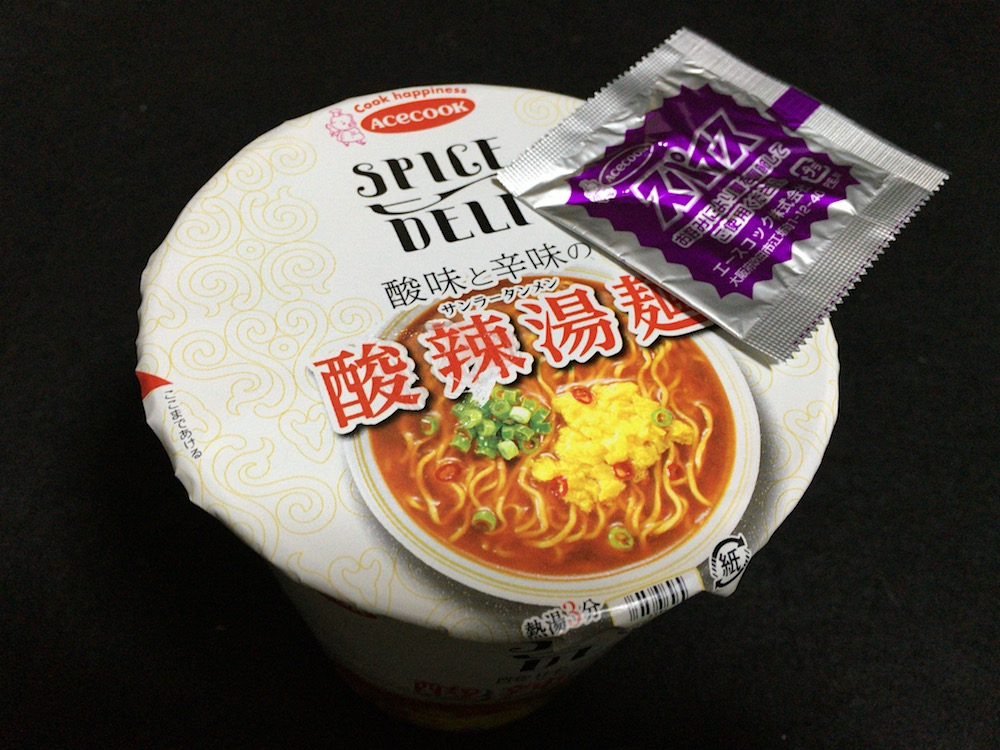 SPICE DELI 酸味と辛味の酸辣湯麺