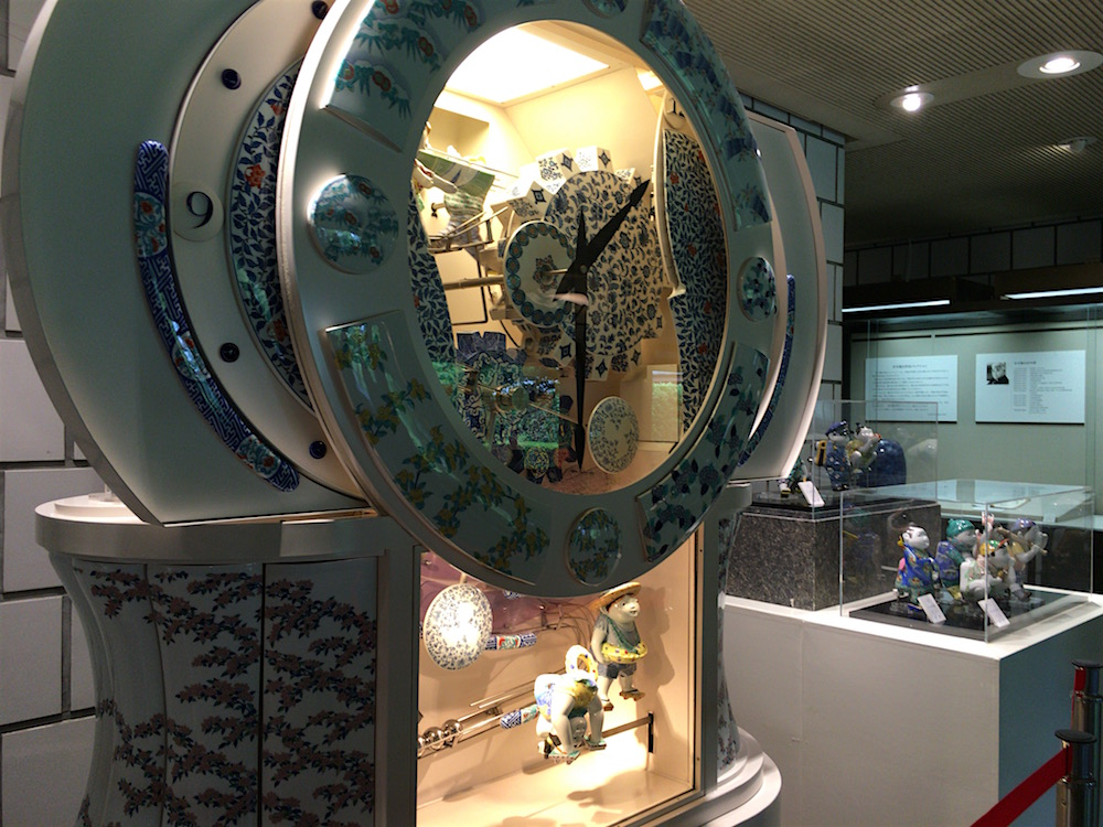 佐賀県立九州陶磁文化館 からくり時計