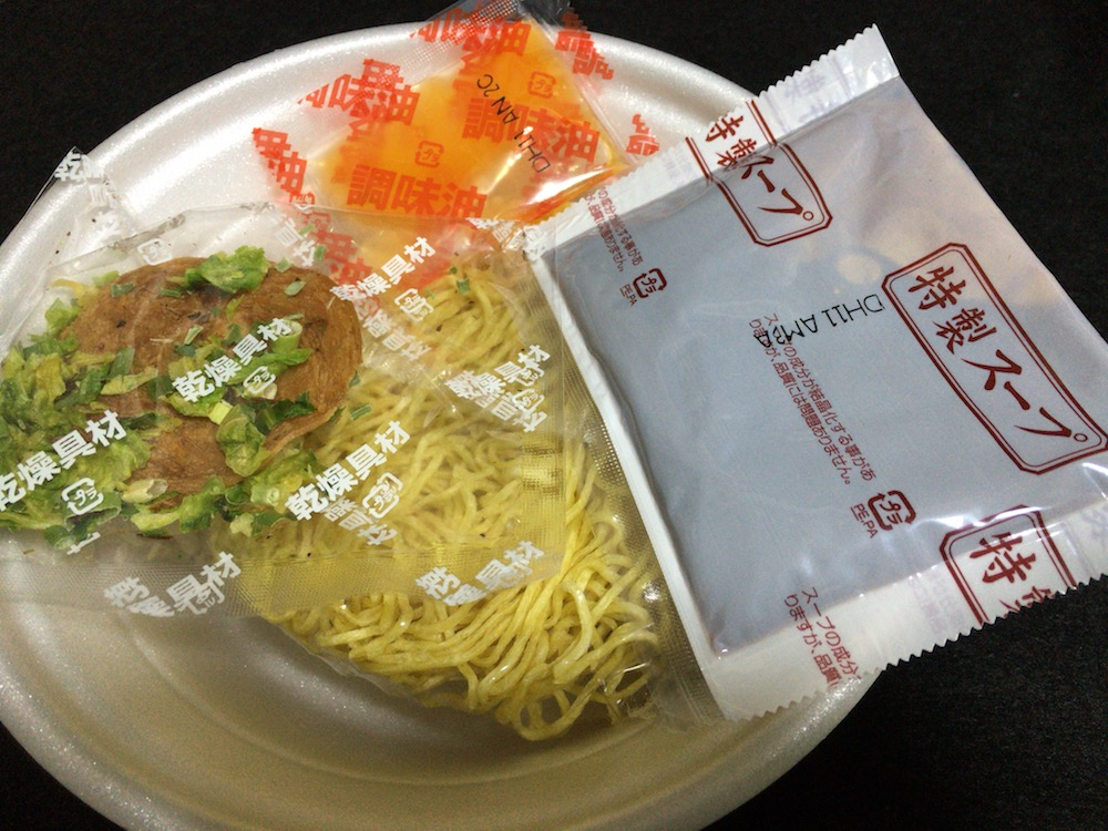 渡辺製麺 五郎家(568)しょうゆ豚骨 中身