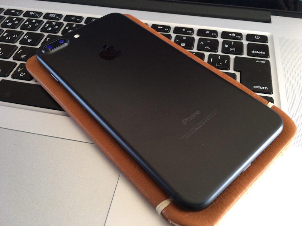 ありん iPhone7 Plus本革レザースリーブケース