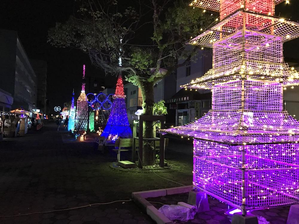 2016鍋島パークロード イルミネーション