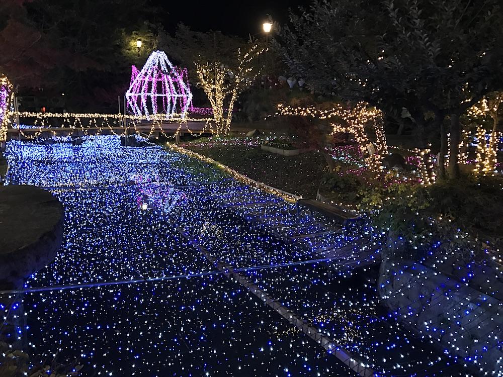 2016 佐賀イルミネーション 松原川
