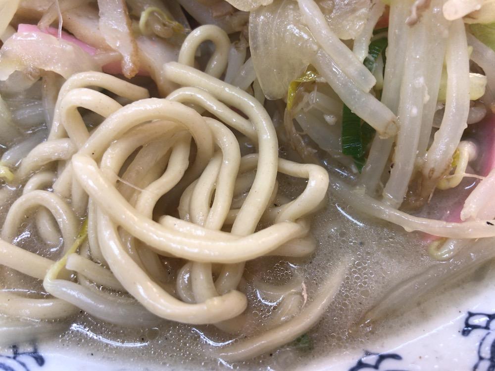 井手ちゃんぽん ちゃんぽん 麺