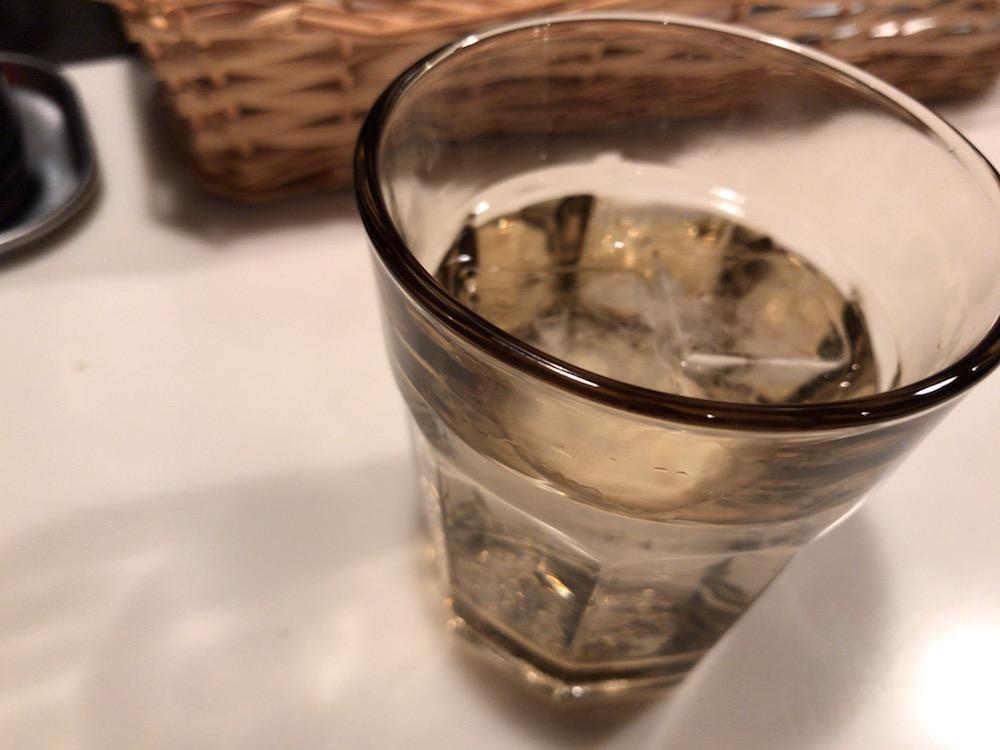 ラーメン武蔵 グラス