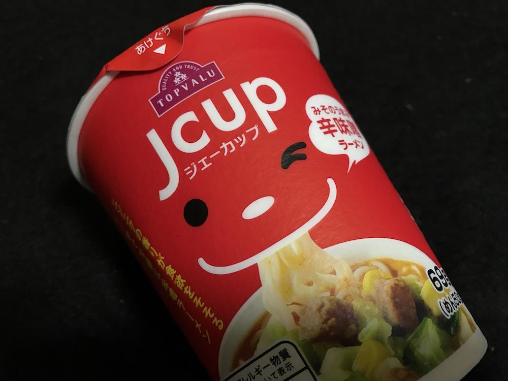 Jcup みそのうまみ 辛味噌ラーメン パッケージ