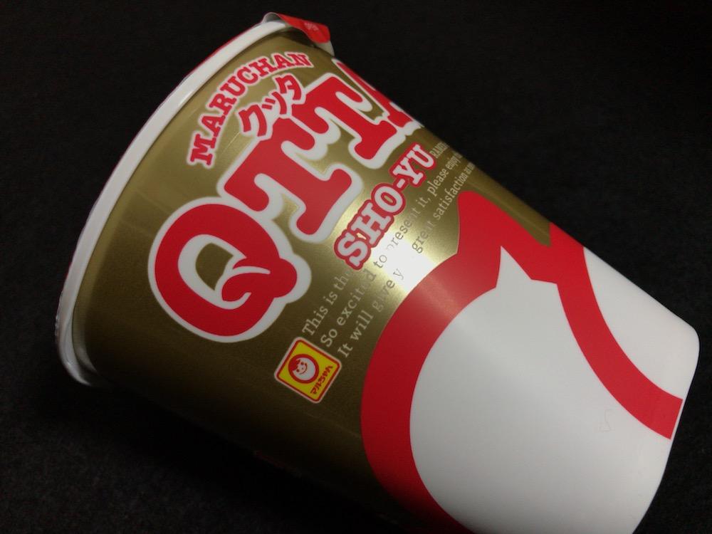 MARUCHAN QTTA(クッタ)SHO-YUラーメン 側面