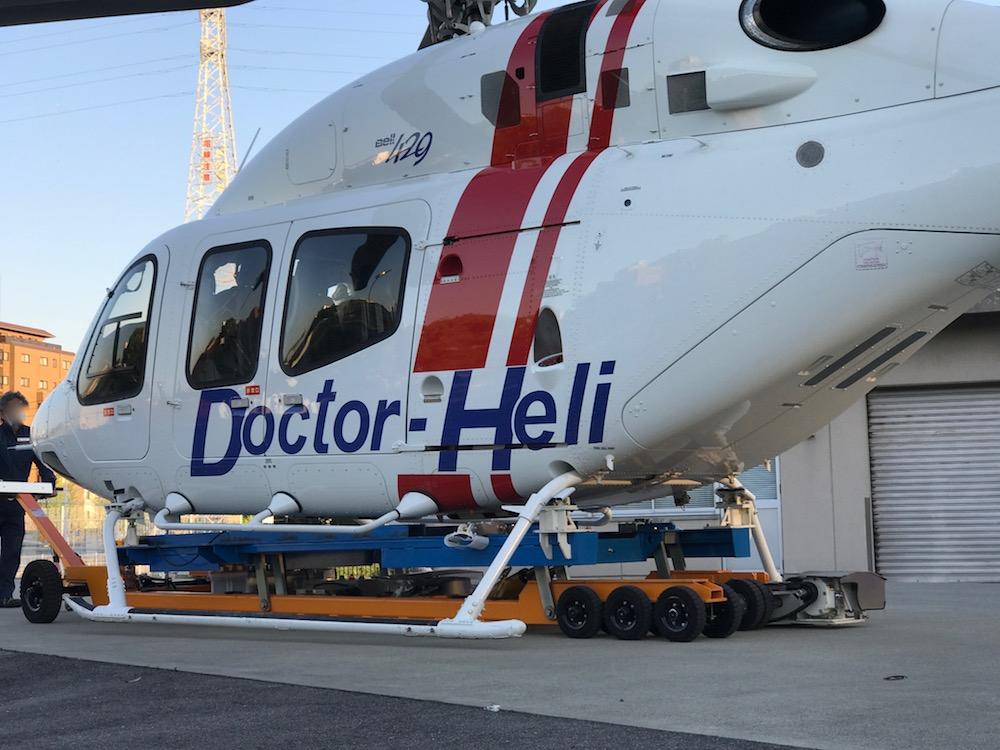 ドクターヘリ ベル社製ベル429型