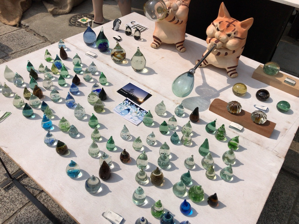 有田陶器市 ガラス
