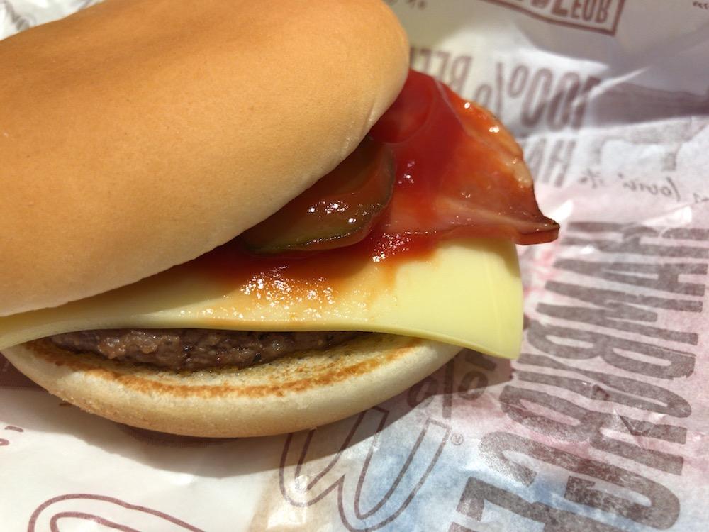 マックの裏メニュー2 ハンバーガー