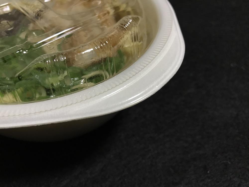 ミニ博多とんこつラーメン 容器