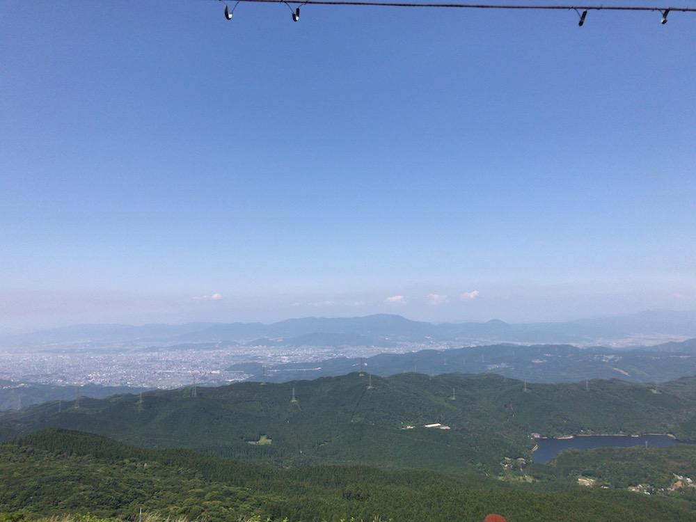 脊振山 山頂 風景
